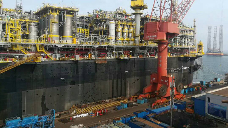Finalização do comissionamento da plataforma FPSO-P75